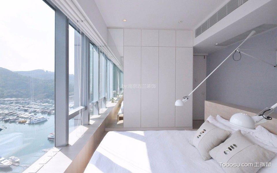 新城玖珑湖124平北欧风格三居室装饰效果图
