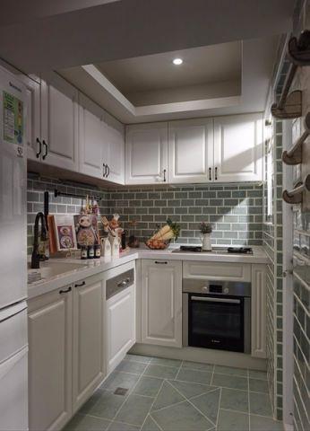 厨房橱柜地中海风格装潢设计图片