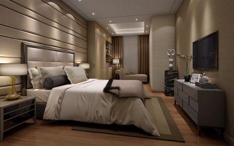 卧室电视柜现代简约风格装潢设计图片