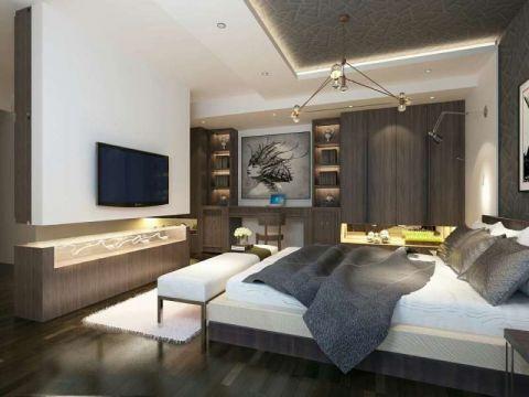 卧室推拉门欧式风格装修设计图片