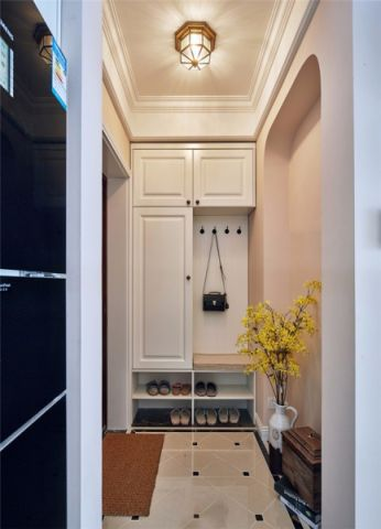 美式风格142平米三室两厅新房装修效果图