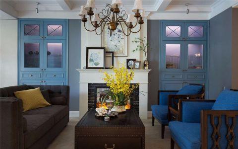 金沙泊岸164平美式四居室效果图