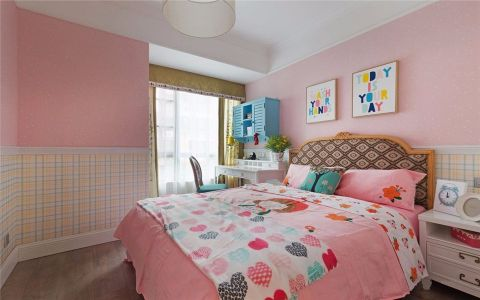 卧室细节美式风格装修图片