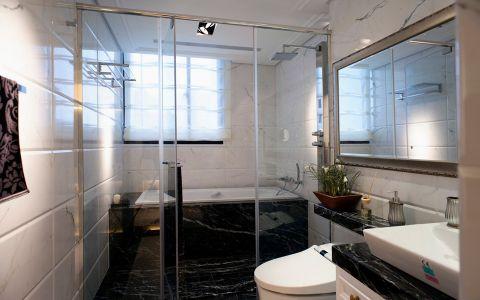 卫生间推拉门欧式风格装饰设计图片