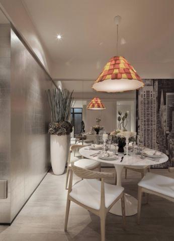 餐厅欧式风格装潢效果图