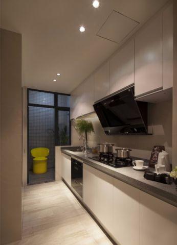 厨房窗台欧式风格装潢图片