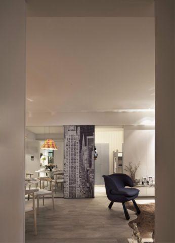 客厅门厅欧式风格装修设计图片