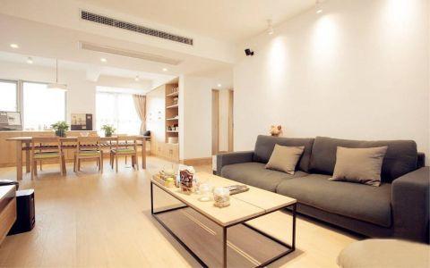 尚锦城128平现代风格三室装修效果图