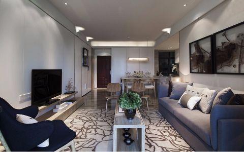 翠屏托乐嘉144平北欧风格四居室装修效果图