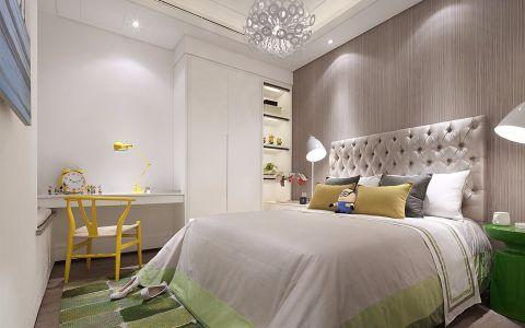 卧室背景墙现代风格装修图片
