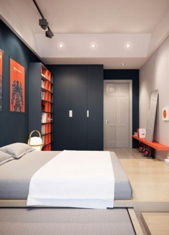 卧室照片墙现代风格装修图片