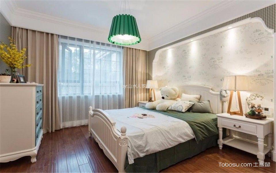 开来都市丰景135平简欧风格三居室装修效果图