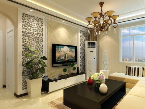 中建锦绣兰庭120平三居室简约风格装修效果图