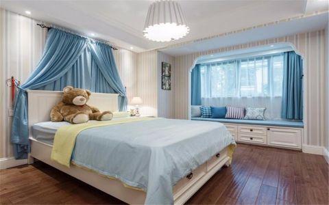 儿童房飘窗简欧风格装饰设计图片