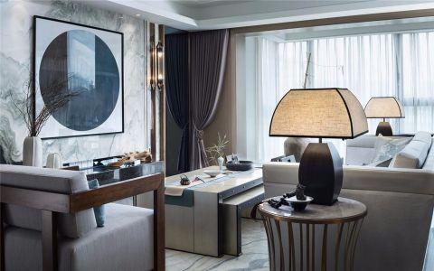 金沙泊岸164新中式四居室装修效果图