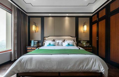 卧室橱柜中式风格装潢效果图