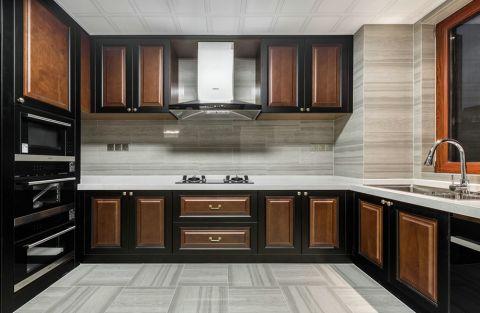 厨房橱柜中式风格装饰图片