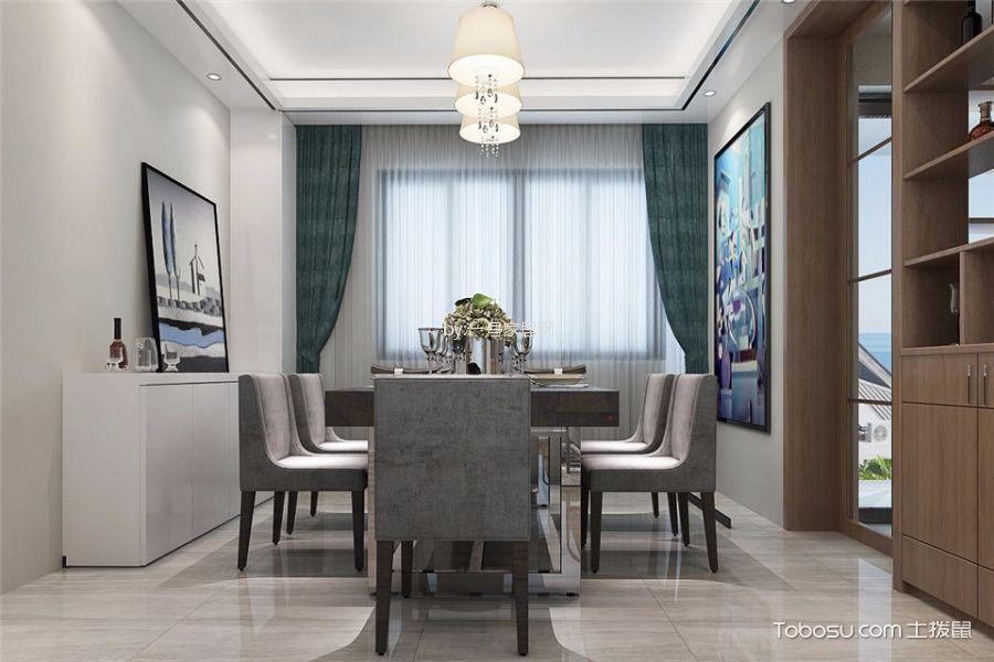 郑州雅居乐140平米现代简约风格效果图