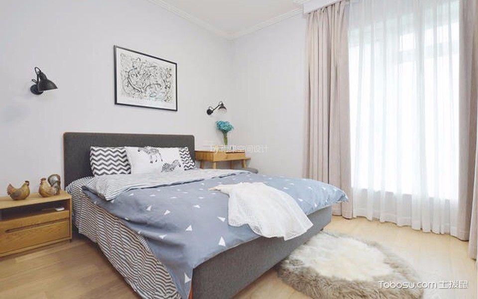 卧室 细节_沪亭北路80平简欧风格一居室装修效果图