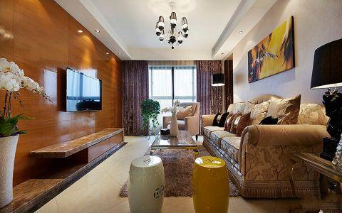 赞成杭家95平米新古典两居装修效果图