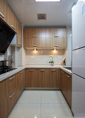 厨房橱柜新古典风格装修效果图