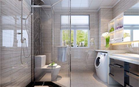 卫生间细节简约风格装修设计图片
