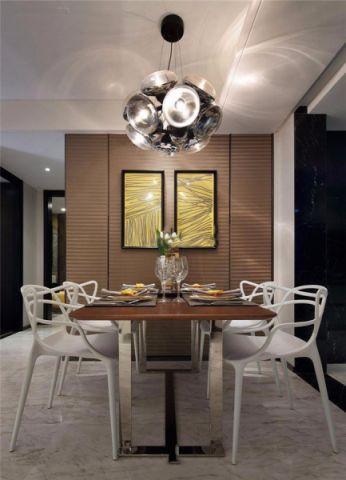 餐厅细节美式风格装修设计图片