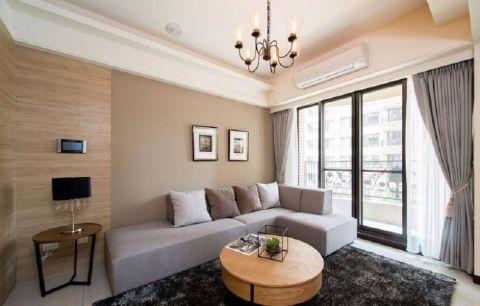 尚悦名都简约风格两室一厅装修效果图
