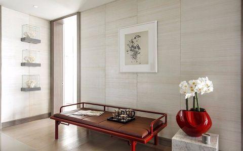 世贸龙湾160平四居室简约风格装修效果图
