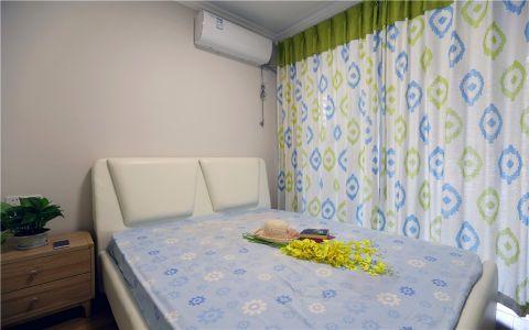 卧室白色细节简约风格装修设计图片
