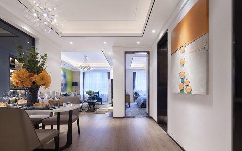 餐厅走廊混搭风格装潢效果图