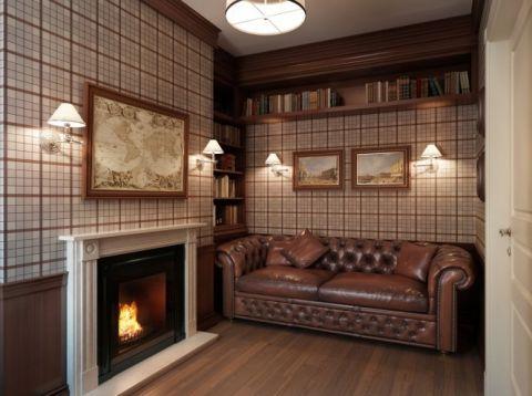 书房细节欧式风格装饰设计图片