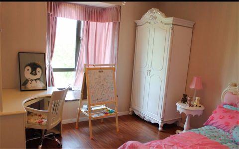 儿童房窗帘简欧风格装潢效果图