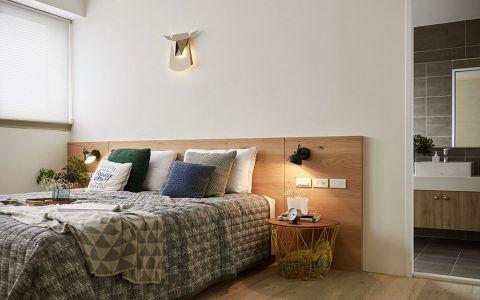卧室白色细节现代简约风格装潢效果图