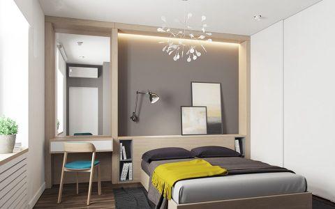 卧室白色细节现代简约风格效果图