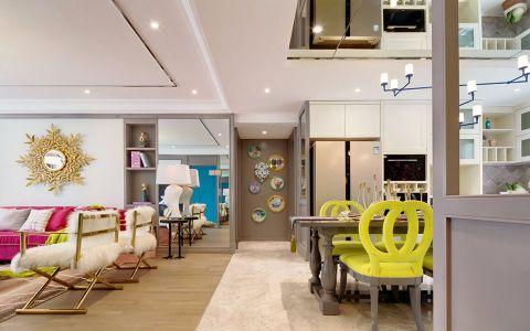客厅门厅简约风格装潢设计图片