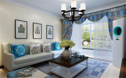 茉莉公馆112平简美风格三居室装修效果图