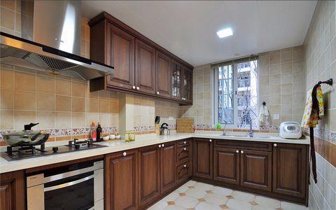 香水湾117平美式风格三居室装修室效果图