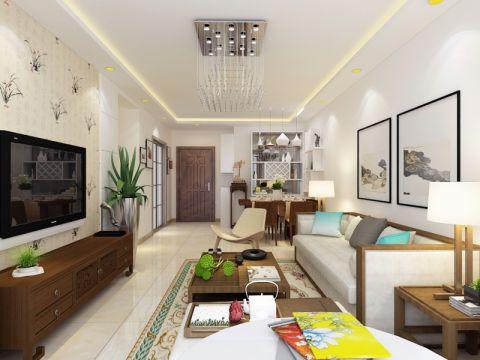 客厅细节现代简约风格装修设计图片