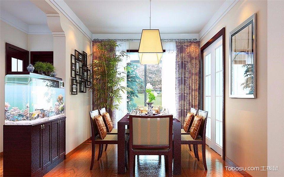 餐厅绿色照片墙中式风格装饰设计图片