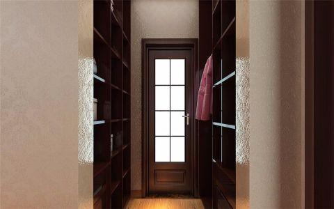 衣帽间白色细节中式风格装潢设计图片