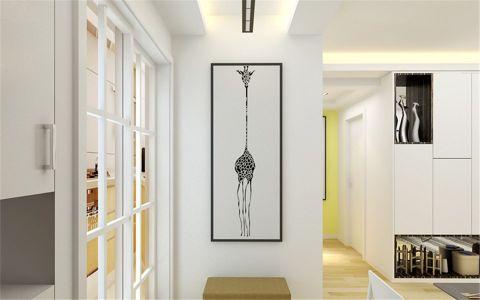 客厅门厅现代简约风格装修效果图