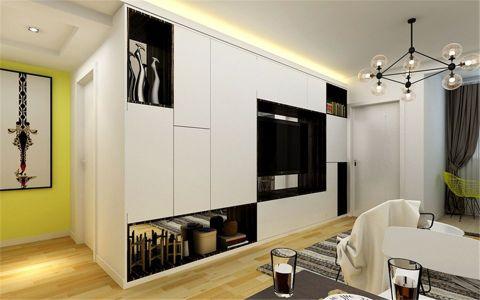 客厅橱柜现代简约风格装潢效果图