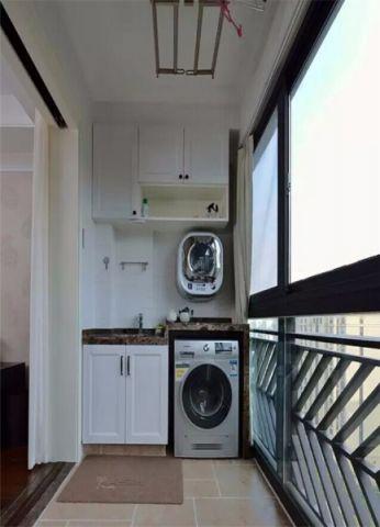阳台细节美式风格装修效果图