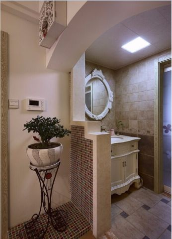 卫生间细节混搭风格装修图片