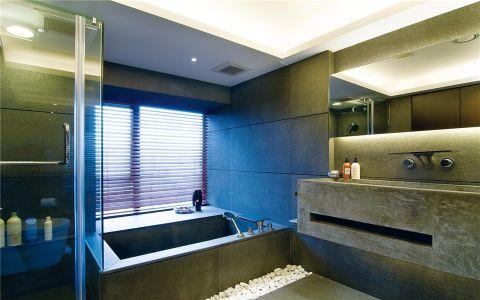 卫生间窗台现代简约风格装潢图片