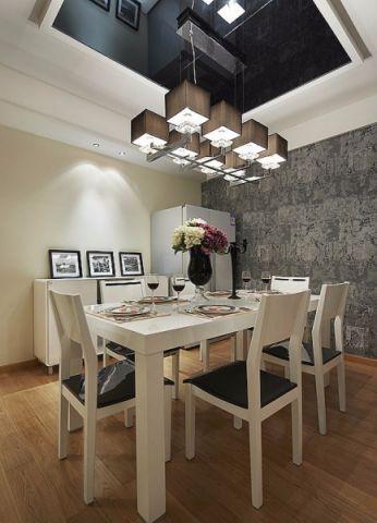 餐厅吊顶简约风格装饰效果图