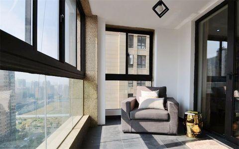 阳台细节简单风格装潢设计图片