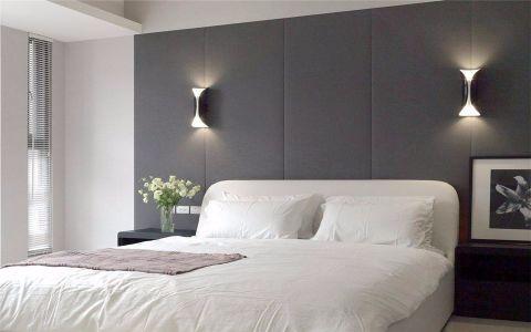 卧室背景墙简单风格效果图
