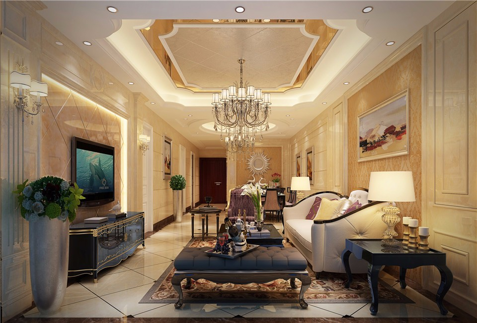 4室3卫2厅160平米欧式风格